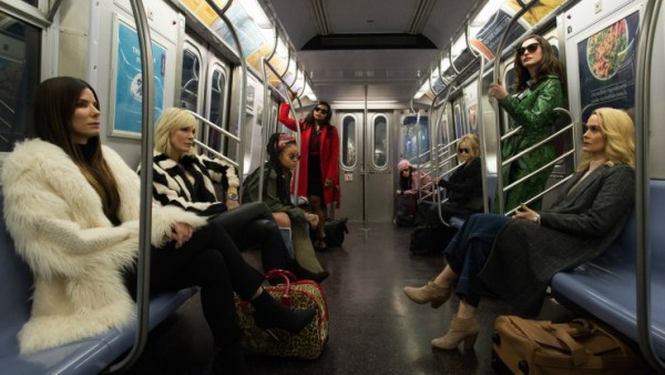 Second Ocean's 8 Trailer The Ladies Plan 'The Heist'