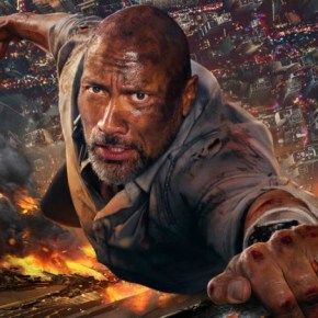 Dwayne Johnson Stands Stall In Skyscraper Trailer Two!