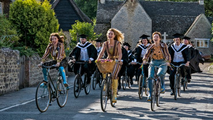 In The Official Film Chart Mamma Mia! Here We Go Again claims highest new entry