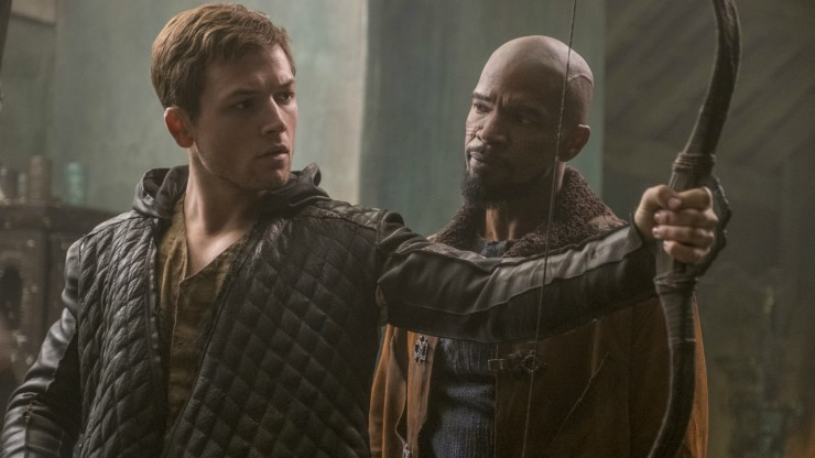 Watch New Electrifying Clips For Robin Hood