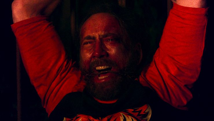 Nicolas Cage Versus The Cultists In Mandy Trailer