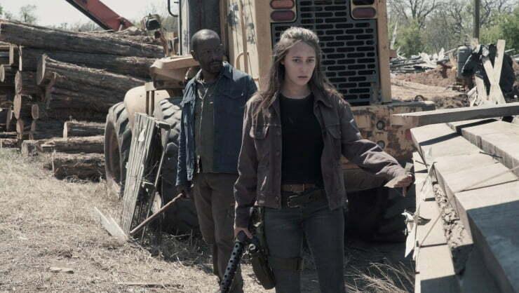 Fear The Walking Dead Mid Season 4 Trailer  Unleashes The Walkers