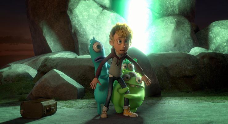 The Aliens Invade Earth In Luis And The Aliens UK Trailer
