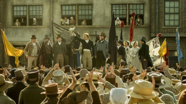 A Revolution Begins In Mike Leigh's Peterloo Watch First Trailer