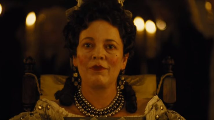 Olivia Colman Is 'Mad' In Yorgos Lanthimos' The Favourite First Trailer