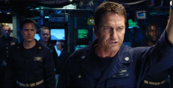 Gerard Butler's Hunter Killer Gets A New UK Poster