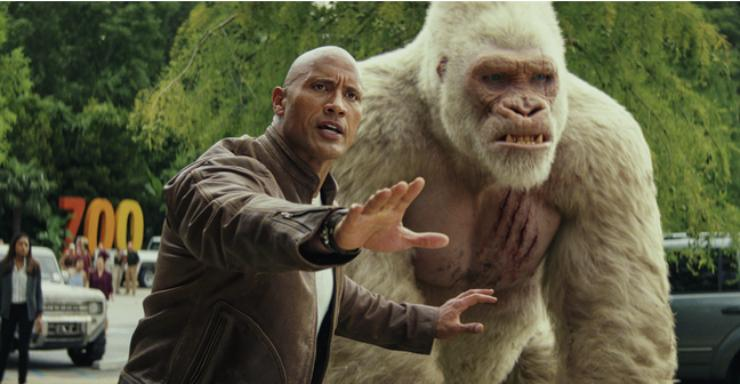 Win Rampage Starring Dwayne Johnson On DVD
