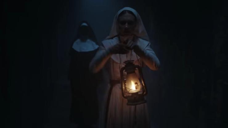 Evil Takes Over In The Nun Timeline Featurette