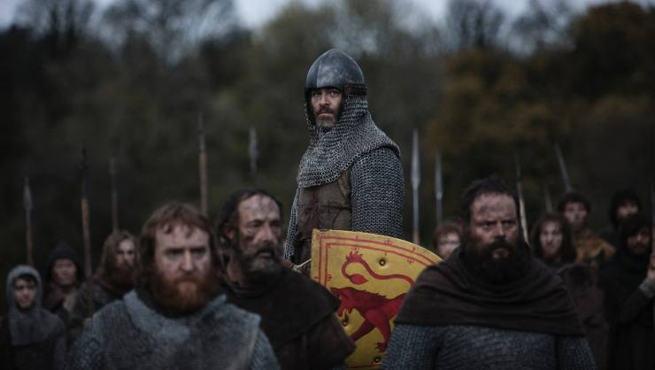 Captain Kirk Fights For Scotland's Freedom In Outlaw King New Trailer