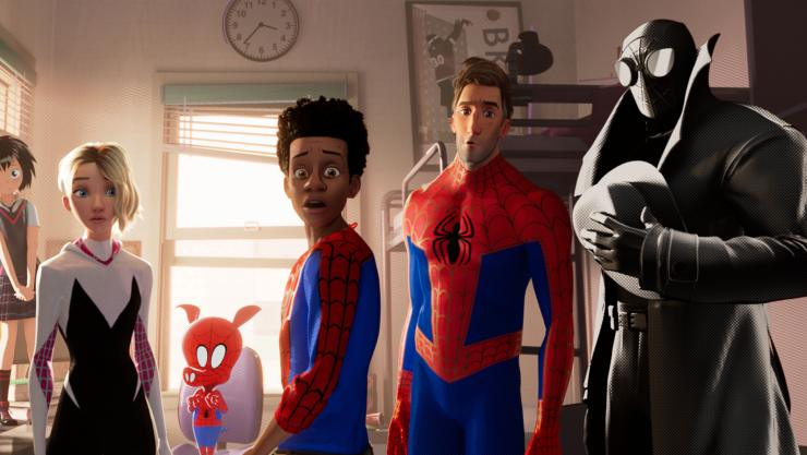 Webslingers Unite In New Spider-Man: Into The Spider-Verse Trailer