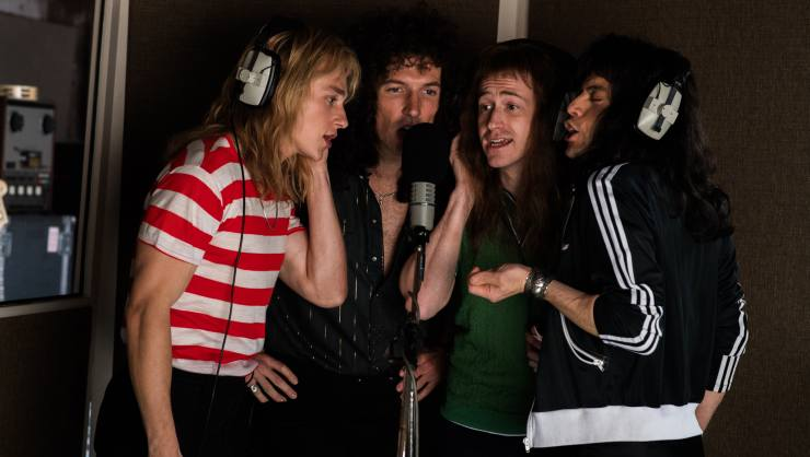 Bohemian Rhapsody Still 'The Champions'  Official Film Chart