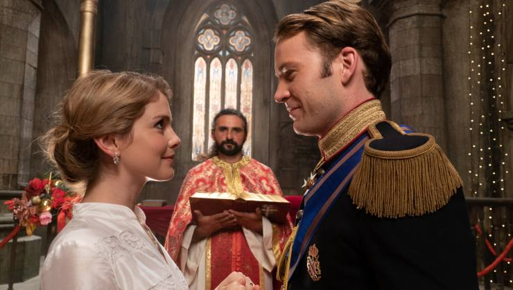 A Christmas Prince: A Royal Wedding Trailer Netflix Deliver A Slice Of Festive Cheese