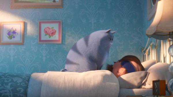 In The Secret Life Of Pets 2 Second Trailer The Cat Can't Handle Her Catnip