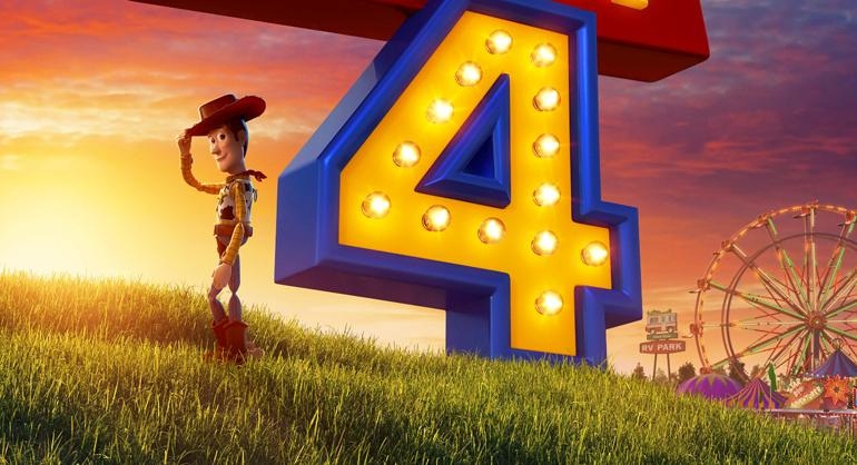 New Toy Story 4 Poster Woody Is Off To The Carnival!