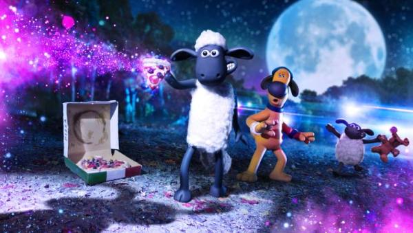 In Shaun The Sheep: Farmageddon First Trailer Shaun Is Abducted By Aliens!