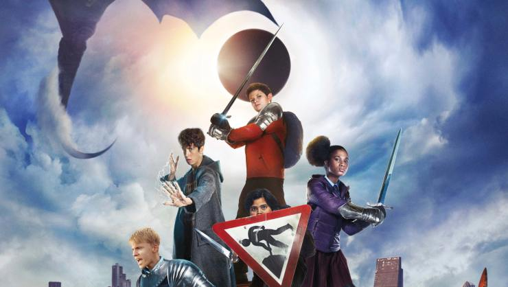 Kids Rule In New The Kid Who Would Be King Poster