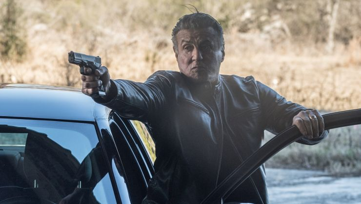 Win Backtrace Starring Sylvester Stallone On DVD