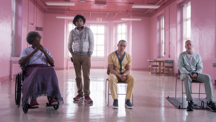 Glass 'Shatters' Rival Films For No.1 Slot At UK Box Office