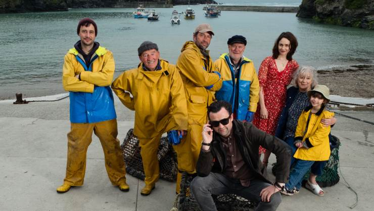 Watch A Behind The Scenes Look At Fisherman's Friends Featurette