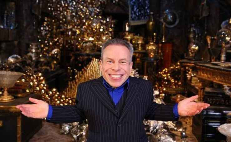 Warwick Davis And Phelp Brothers Open Gringotts Wizarding Bank