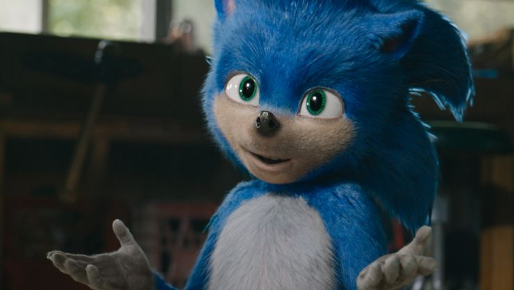 Sonic The Hedgehog First Trailer Goes Fast! Mind The Teeth!