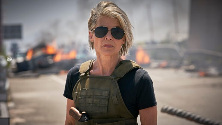 Terminator: Dark Fate New Trailer Sarah Connor Reunites With Original T-800