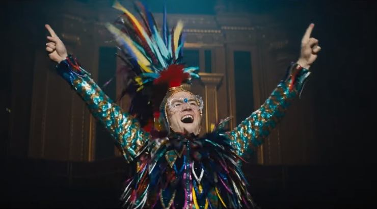 Rocketman Featurette Dives Into Elton John's Flamboyant Costumes