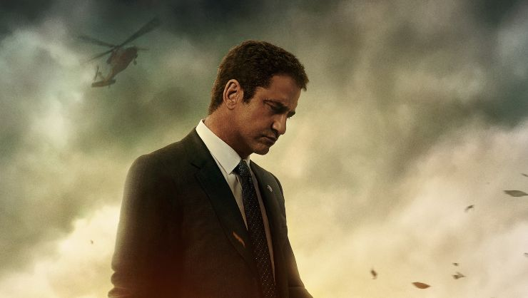 Gerard Butler 'Runs' In Angel Has Fallen UK Trailer
