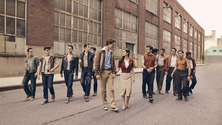 First Look At Steven Spielberg's West Side Story Sharks And Jets!
