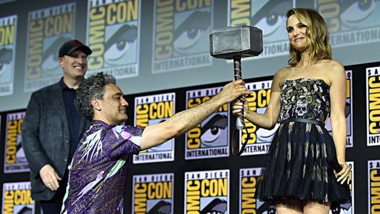 San Diego Comic Con 2019 – Natalie Portman Is Thor !