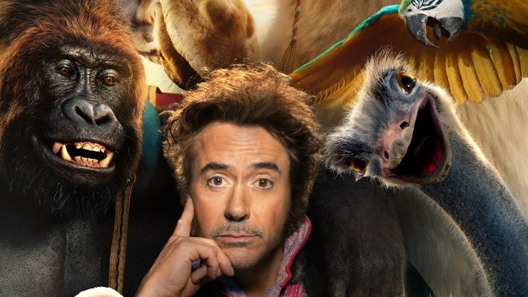 Robert Downey Jr 'Talks To The Animals' In New Dollitle Featurette