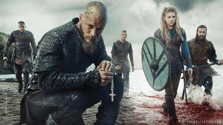 Win Vikings: Season 5 Volume 2 On DVD