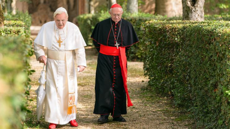 Netflix's The Two Popes New Trailer Examines Their Freindship