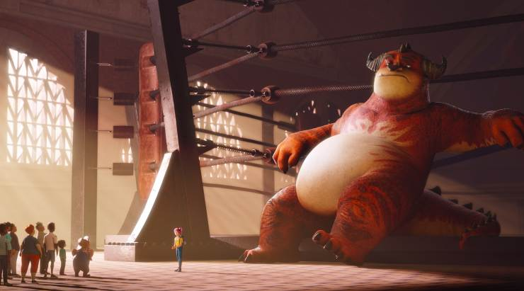 It's 'Dirty Dancing' In First Trailer For WWE Animation Rumble
