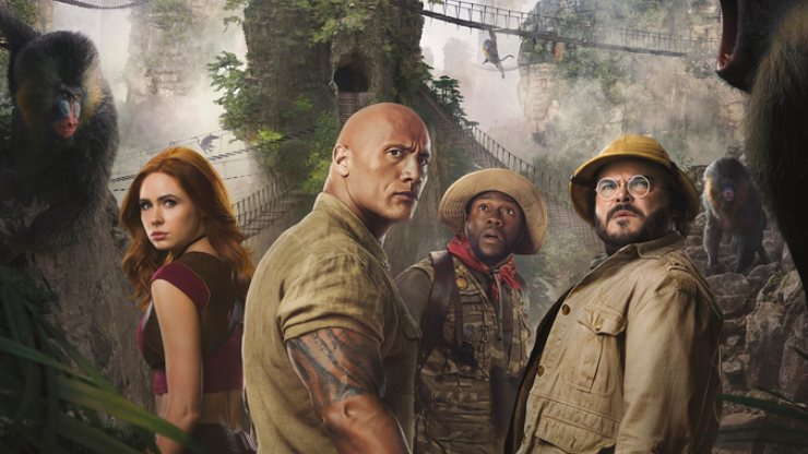 Win Jumanji: The Next Level On Blu-Ray