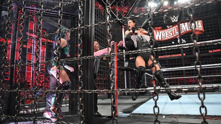 Win WWE Elimination Chamber 2020 On DVD