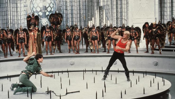 Flash Fights! In Newly Restored Flash Gordon Clip