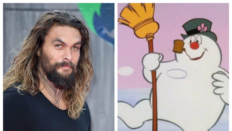 When Aquaman Becomes The Snowman: Jason Momoa To Play Frosty