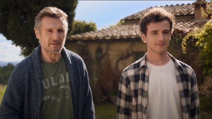 Watch The Heart Warming Made In Italy Trailer With Liam Neeson