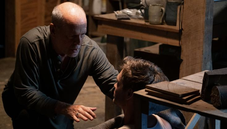 Bruce Willis Gets 'D.I.Y' Surgery In Survive The Night Clip