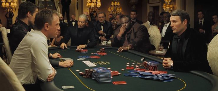 The Casino Royale Poker Scene – The Rebirth of James Bond