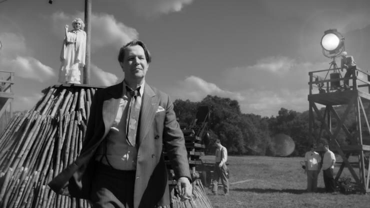 In David Fincher's Mank First Trailer Gary Oldman Battles Orson Welles!