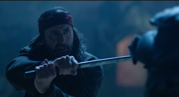 Nicolas Cage Vs Space Ninja In Jiu Jitsu UK Trailer!