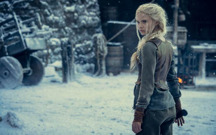 First Look At Freya Allen's Ciri In More First Look The Witcher Season 2