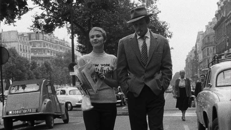 Film Review –  Breathless  4K (À bout de souffle, 1960)