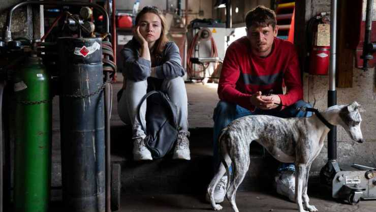 Jungleland director Max Winkler and actor Jessica Barden on working with whippets and the music of The Boss