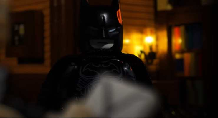Beatdown Time In The Batman Lego Created Trailer