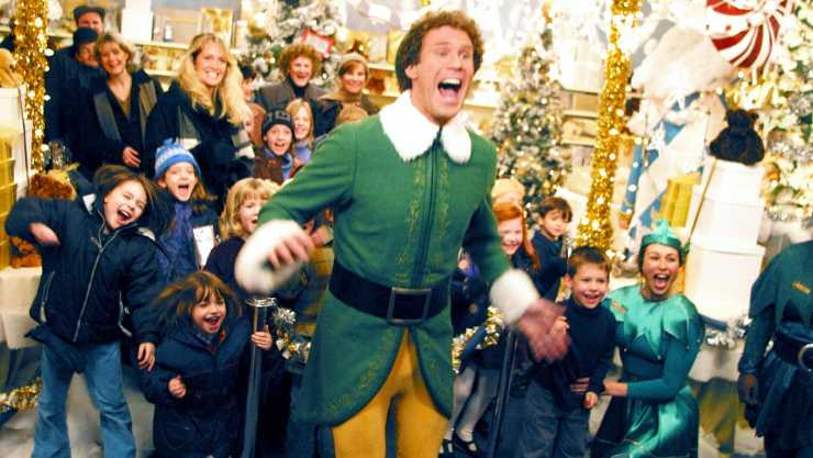 Festive Favourite Elf Climbs To The Official Film Chart Top Spot