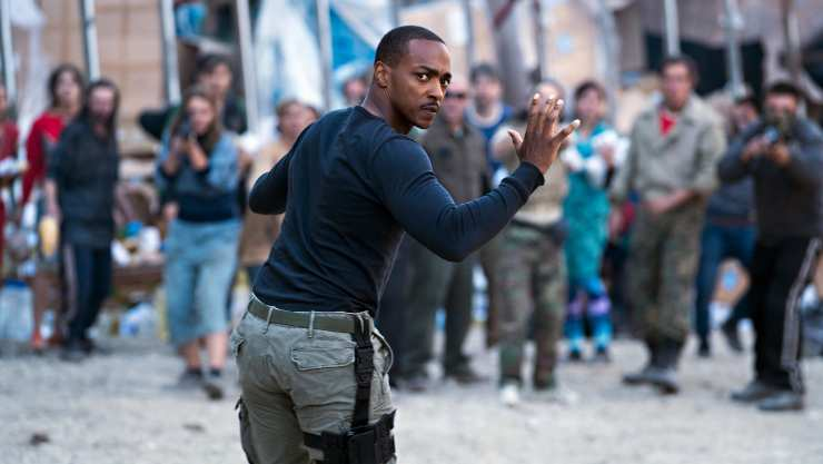 In New Outside The Wire Trailer Anthony Mackie Is Defiant By Design