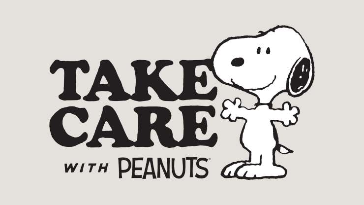 Take Care with Peanuts Snoopy celebrates Women's History Month